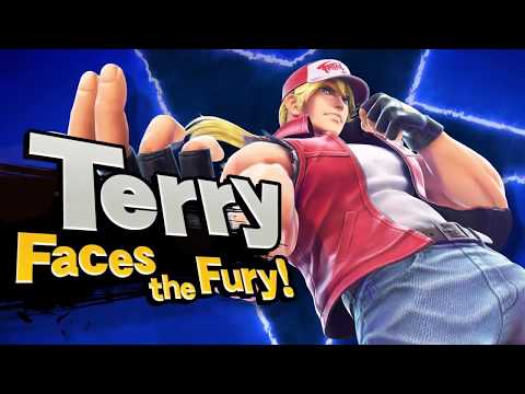 Terry Bogard in Smash Bros. Ultimate REVEAL TRAILER