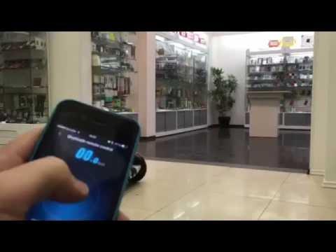 Гироскутер мини сигвей Xiaomi Mi Ninebot Mini управление с iPhone