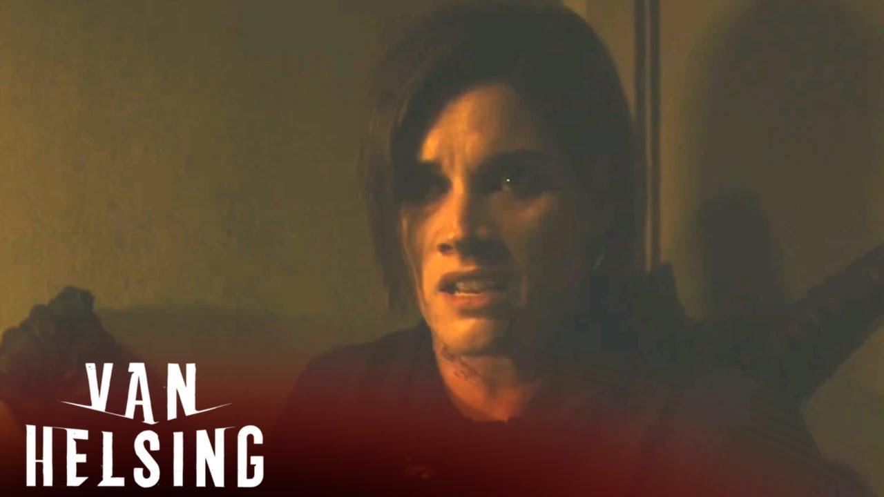 Download VAN HELSING | Season 2, Episode 7 Clip: Getting Juiced | SYFY