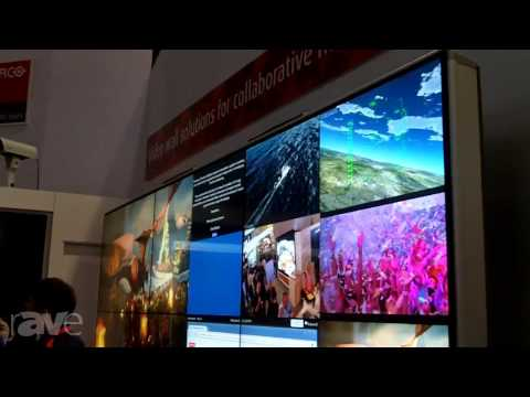 InfoComm 2013: Barco Exhibits Free-Standing Video Wall Structure