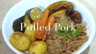 Pulled Pork 3 Ingredient Slow Cooker Cheekyricho Recipe