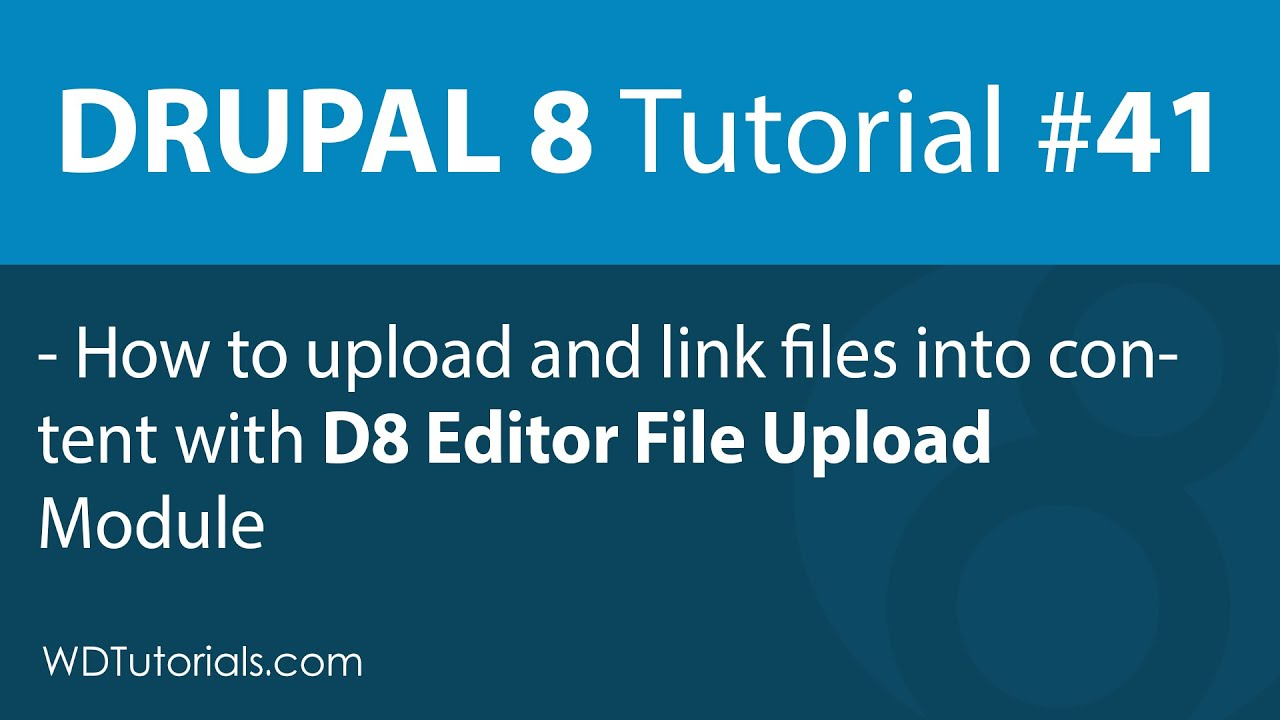 Drupal 8 - How To Upload Files Without Creating A File Field