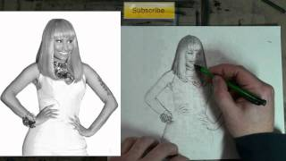 YOUDRAW (How to Draw) Nicki Minaj: Interactive Figure Drawing Tutorial
