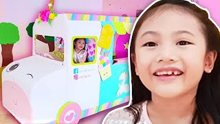 Little Big Toys Barbie Ice Cream Truck ! learn Skip Counting with Me !