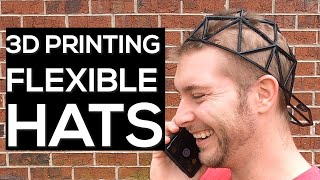 3D Printing Hats! (Flexible) - Pros & Cons of TPU with Wearables