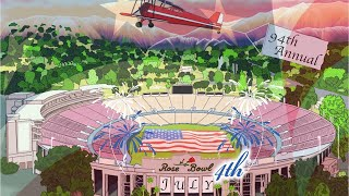 94th Annual Virtual 4th of July Celebration on Rose Bowl LIVE.