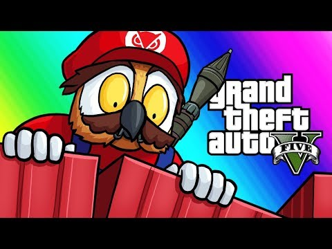 GTA5 Online Funny Moments – The Ultimate Clutch! (Mario VS RPG)