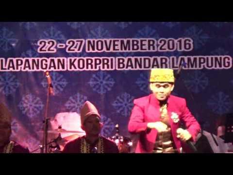 Finalis Dewasa Putra 135 dari NTB pada Festival Bintang Vokalis Seni Qasidah Nasional 2016 di Lampun