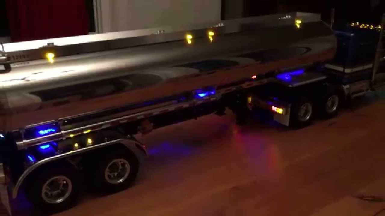 Tamiya 1/14 King Hauler and Tanker Truck Custom Lighting