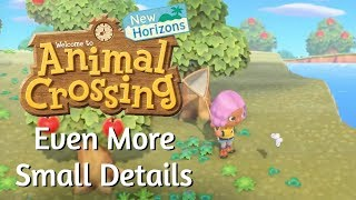 Even More Animal Crossing: New Horizons Small Details