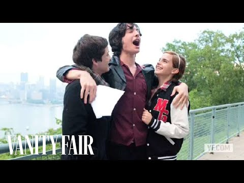Emma Watson in her The Perks of Being a Wallflower Vanity Fair Photo Shoot