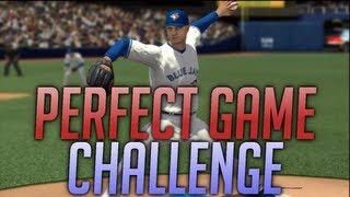 MLB 2k13 Perfect Game Challenge! - MrHurriicane Tries To Win $25,000 LIVE!