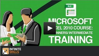 learn how to use microsoft excel 2010 training course promo full course inside