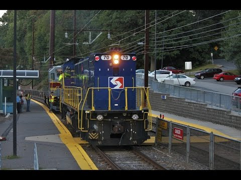 [HD] MARC, Amtrak & The West Chester Railroad, SEPTA Highlights
