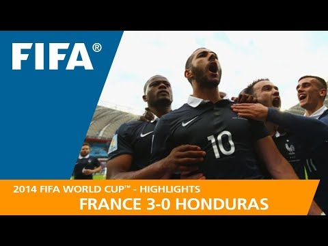 FRANCE v HONDURAS (3:0) - 2014 FIFA World Cup™