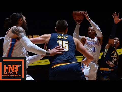 Oklahoma City Thunder vs Denver Nuggets Full Game Highlights / Feb 1 / 2017-18 NBA Season