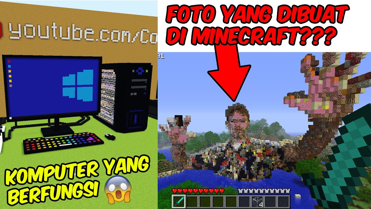 Kreasi Minecraft TERBAIK, TERBESAR & TERGILA di Dunia😱