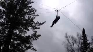 Giant Swing at Camp Olympia! (Huntsville, Ontario)