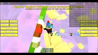 Roblox Heaven Simulator Energy Is 1500! If u Drink More You Jump Higher