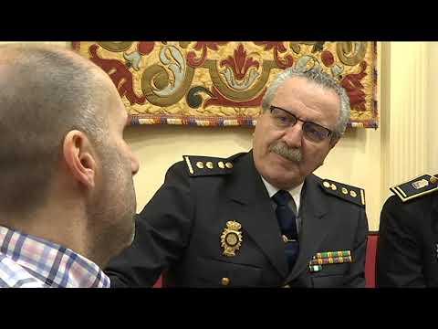 Reunión Jácome policías local y nacional 10 12 19
