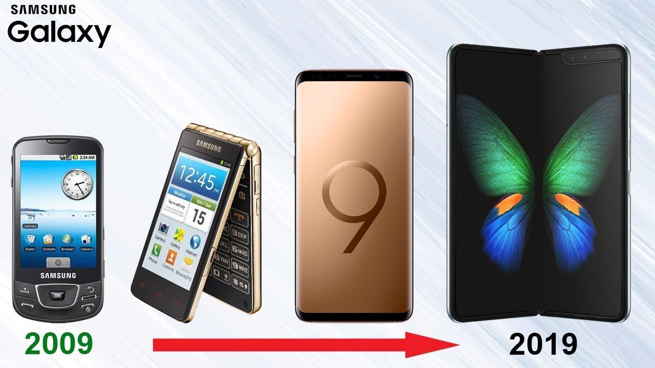 Samsung Galaxy Smartphone Evolution - All Models