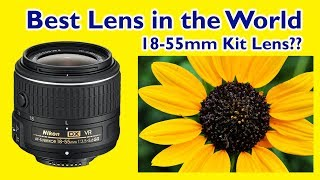 5 Reasons why the 18-55mm Kit Lens is Best for you | Best Lens in the World HINDI