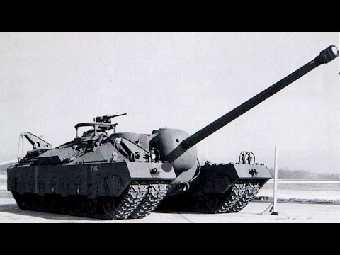 American Monster Tanks of WW1 & WW2
