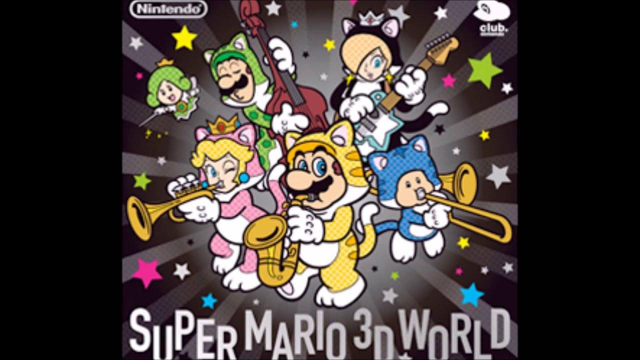 Super Mario 3D World Soundtrack - Underwater (EXTENDED ...