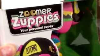 "ZOOMER Zuppies ""ROXY"" Multicolored Electronic Interactive RC Puppy Dog Toy / Toy Review"
