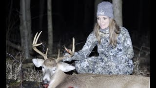 Cassandra's Michigan Deer Season (Girl Kills Big Buck)