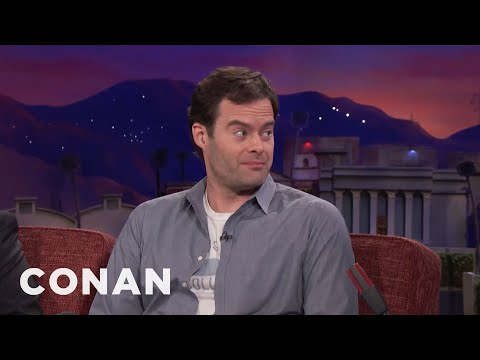 Bill Hader Can't Put On Muscle   CONAN on TBS