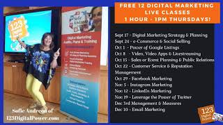 2020 Digital Marketing Fall Classes