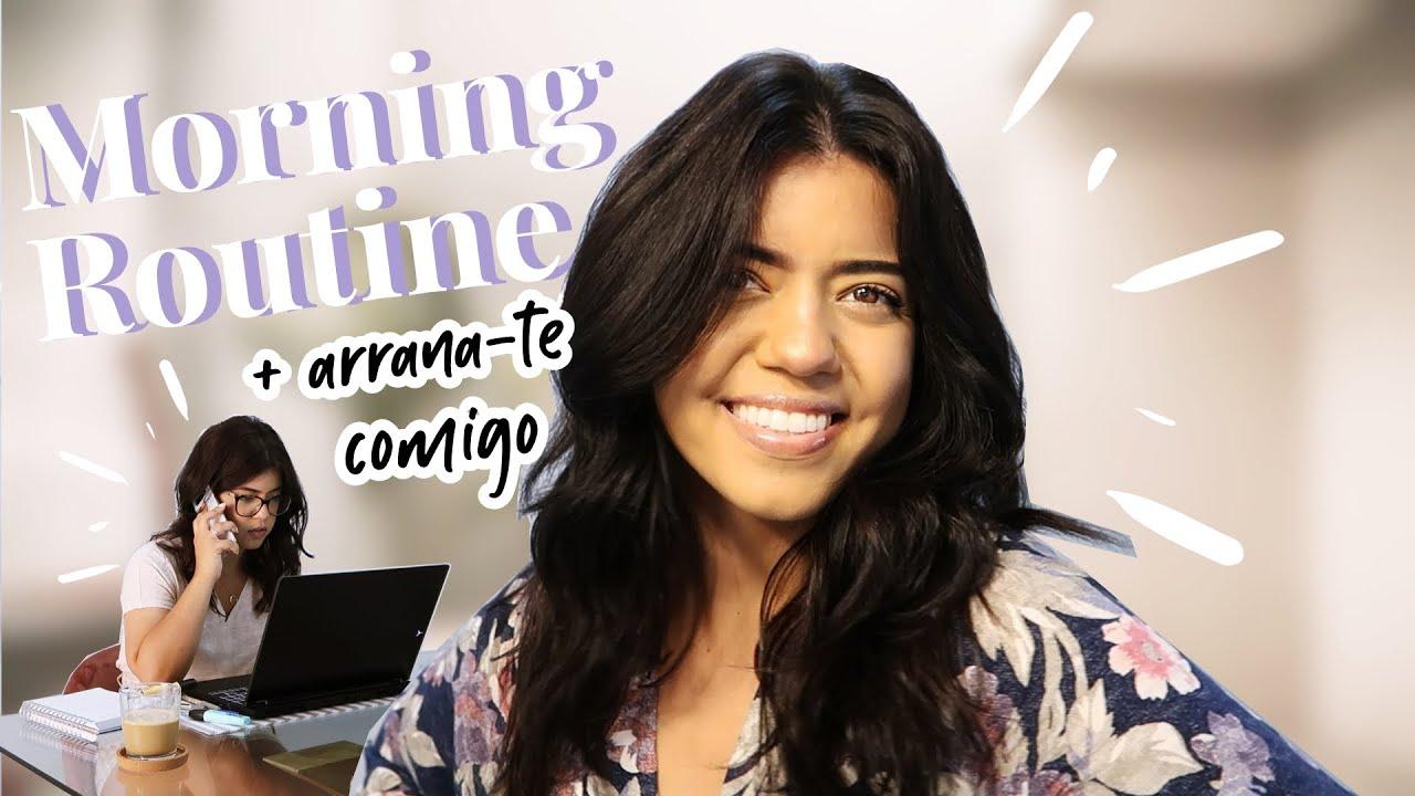 MORNING ROUTINE + ARRANJA-TE COMIGO | Andreia Simão