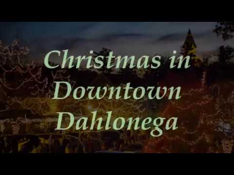 Christmas in Downtown Dahlonega - 2016 - YouTube