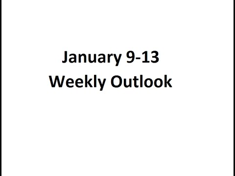 Weekly Commodity Outlook | Oil, Gold, Silver | January 9-13