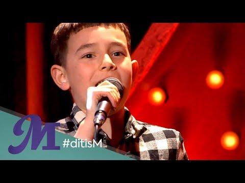 Silver Metz, winnaar The Voice Kids 2019, zingt 'Bloed, Zweet en Tranen'