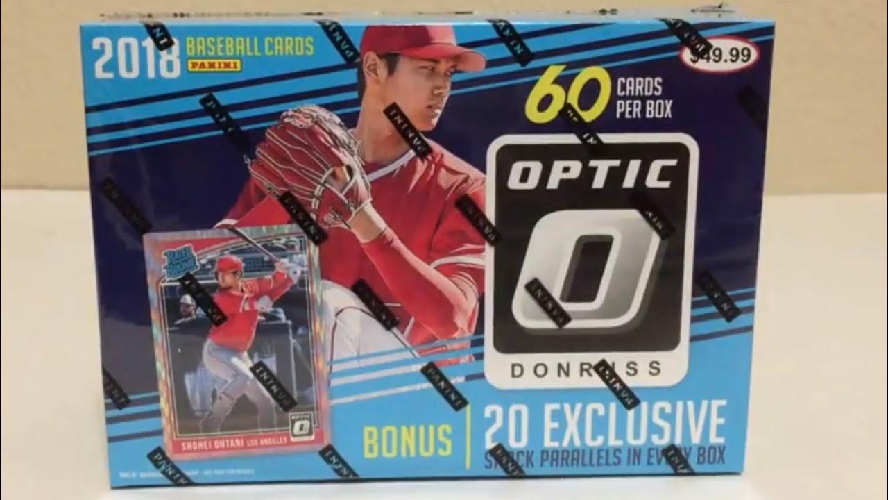 2018 Donruss Optic Baseball Mega Box