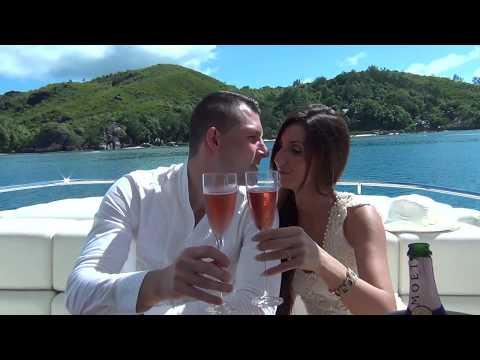 Bartuska Család esküvője a Seychelles Szigeteken
