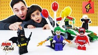 LEGO Batman Movie Папа Роб и Ярик Бомба Джокера Сборка набора #ЛЕГО продолжается Видео для детей