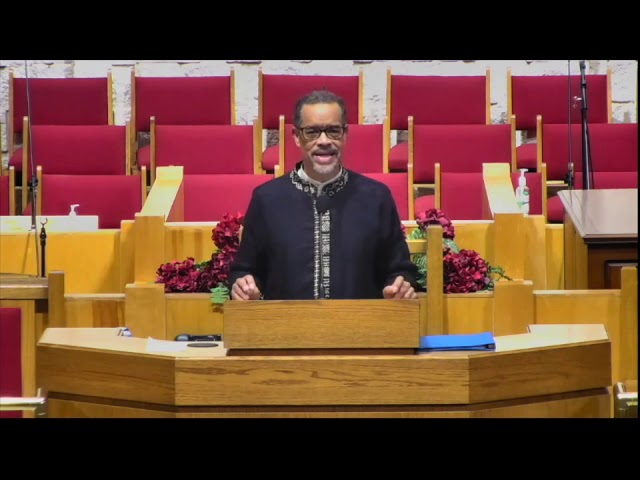 Rev. Willard Bass Sermon at Emmanuel Baptist Church