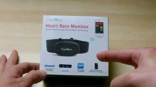 Coospo Bluetooth Heart Rate Monitor Unboxing