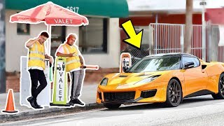 Fake Valet Parking Employee Prank! (MUST WATCH)