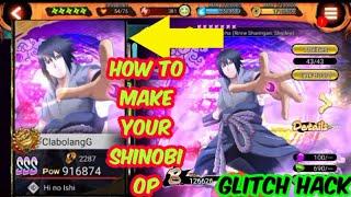 NxB Nv How To Get OP Strong Shinobi Glitch Naruto X Boruto Ninja Voltage