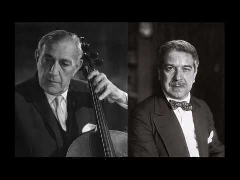 Beethoven - Cello Sonatas No. 2 (Gregor Piatigorsky & Artur Schnabel)