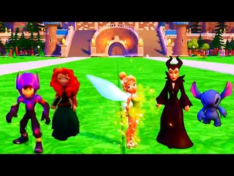 Disney Infinity 2.0 Originals Showcasing All Characters Costumes, Abilities Skills