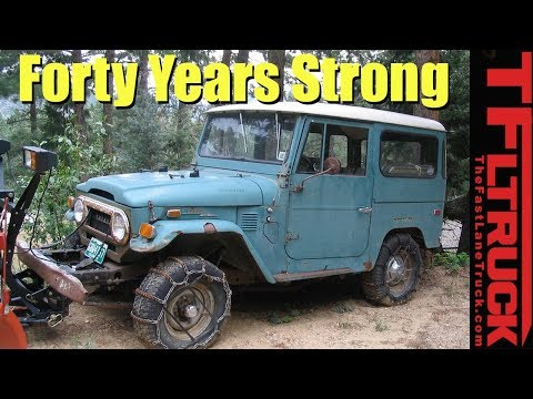 Forty Years Strong: 1972 Toyota FJ40 Land Cruiser Complete History - TFLnow (Almost) Live
