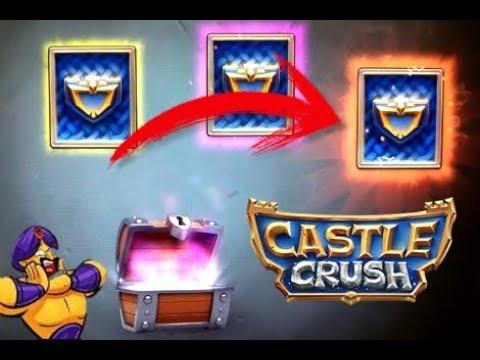 CASTLE CRUSH || CONSIGO CARTA LEGENDARIA EN COFRE GRATIS (CHEST OPENING) (LEGENDARY CARD) || GAZTHAK