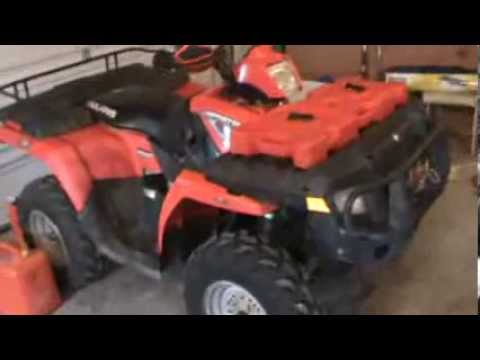 Polaris Sportsman 500 HO Spark Plug Location - YouTube