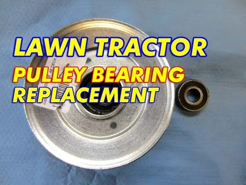 Pulley bearing replacement on lawn tractor mowing deck youtube pulley bearing replacement on lawn tractor mowing deck publicscrutiny Choice Image
