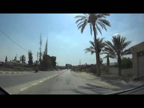 Jericho, the Palestinian Authority - A Car tour through the streets and the city's historical sites